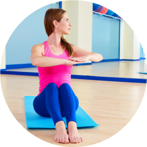 Pilates By Natalie offers private tution in a studio in east Haddon, Northants.